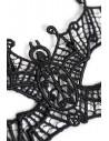 Эротические кружевные трусики Erolanta Lingerie Collection c доступом белые /46-48/