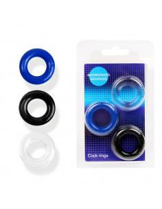 Вибратор Indeep Yonce Turquoise с клиторальным стимулятором и двумя моторчиками 10 виброрежимов /20,5x3,3см/
