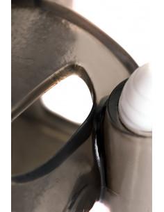 Вибромассажер из кибер кожи с мошонкой /16х5 см/