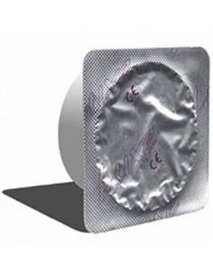 Чулки-сетка с ажурным швом сзади и леопардовой резинкой /S-L/
