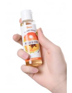 Сувенир брелок-пенис для ключей Romfun оранжевый